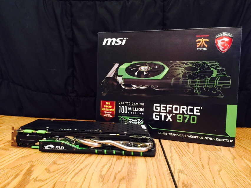 SOLD |$| MSI Computer Co  Nvidia GeForce GTX 970 [100