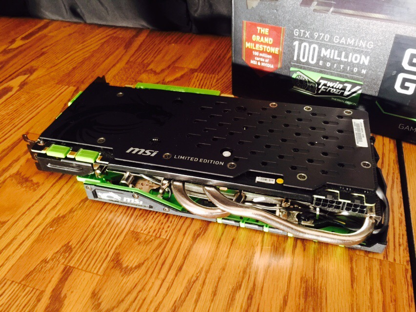 SOLD |$| MSI Computer Co  Nvidia GeForce GTX 970 [100